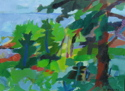 Green Abstracted Landscape (thumbnail)