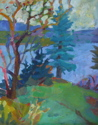 Trees on Islesford (thumbnail)