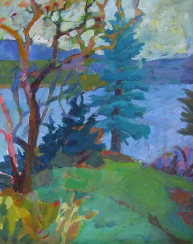 Trees on Islesford