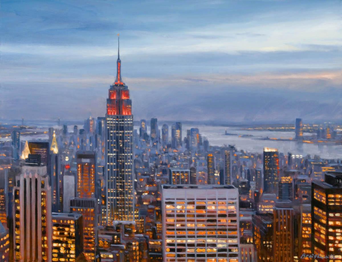 Manhattan Dusk (large view)