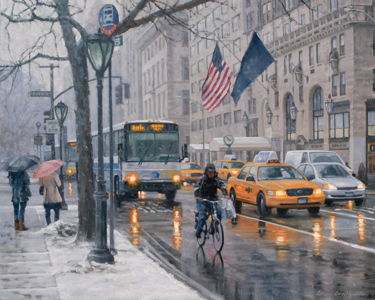 Fifth Avenue Snow (large view)