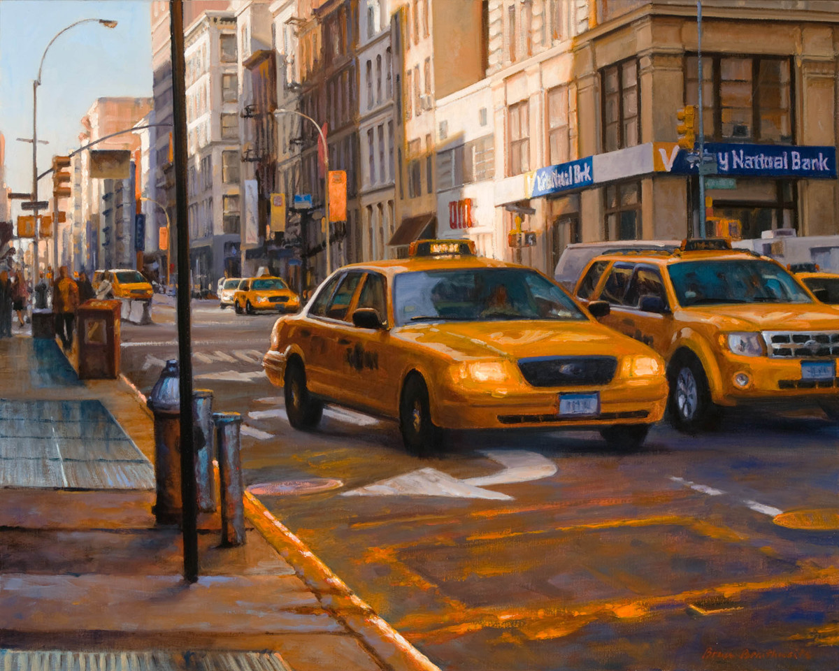 Late Day in SoHo (large view)