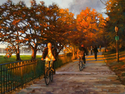 Riverside Park Bikers (thumbnail)