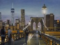 Brooklyn Bridge Evening (thumbnail)