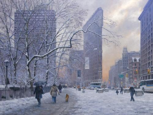 Flatiron in Winter (large view)