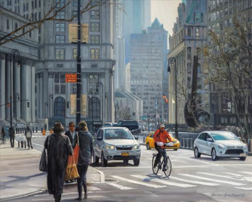 Centre Street by Bruce Braithwaite