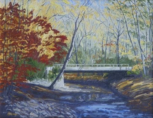 Bridge on Fleecydale Road by Bryan Oliver