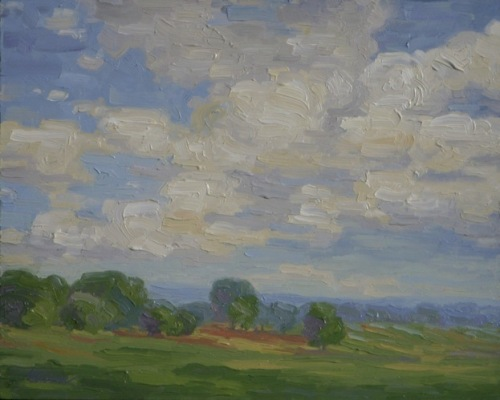 Clouds on the horizon by Bryan Oliver
