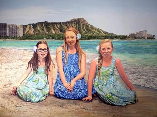 """""""The Girls on Waikiki"""""""
