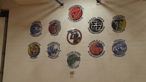 Melvindale Southwall Downriver Conference Logos