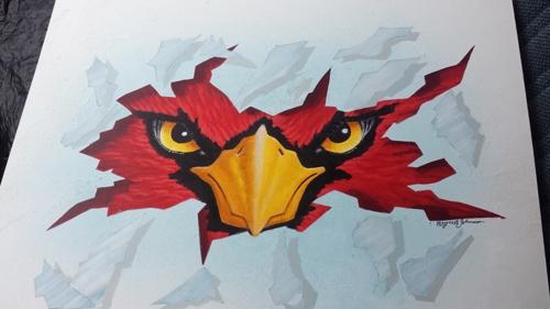 Melvindale Cardinal Painting