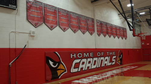 Melvindale North Wall Mattes and Banners