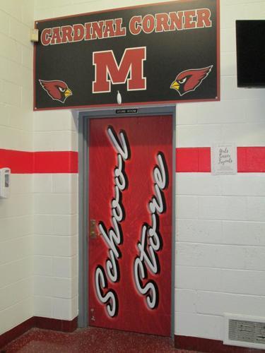 Melvindale School Store Door
