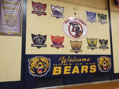 Wyandotte High School Gym
