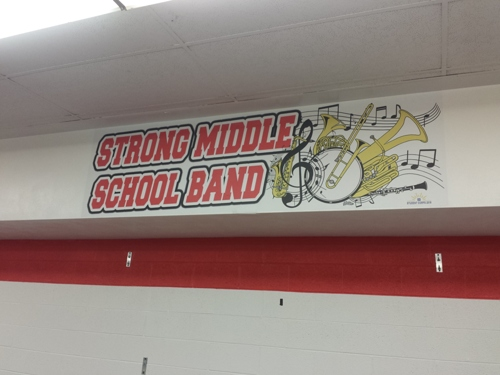 Strong Middle School Band