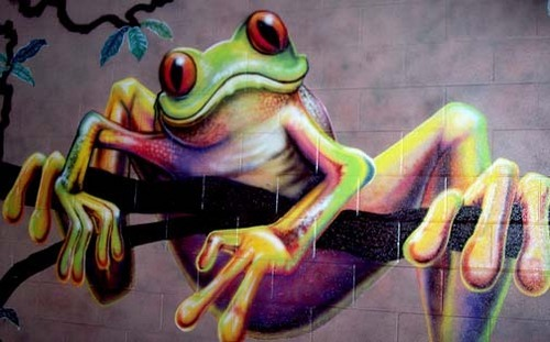 Treefrog Wall/Hallway