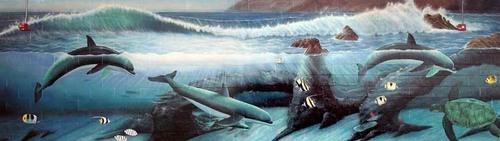 Douglas/Dolphin Mural