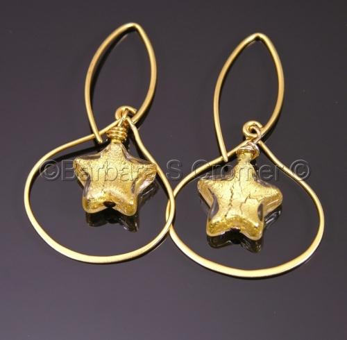 golden stars by Barbara Cromer