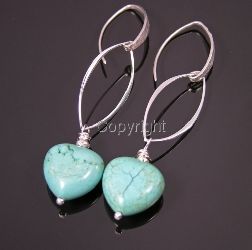 Turquoise of hearts