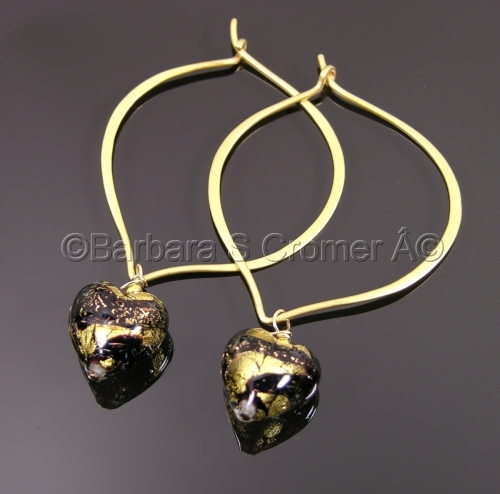 Stunning Venetian Hearts on Vermeil