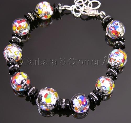 Klimt Venetian bracelet