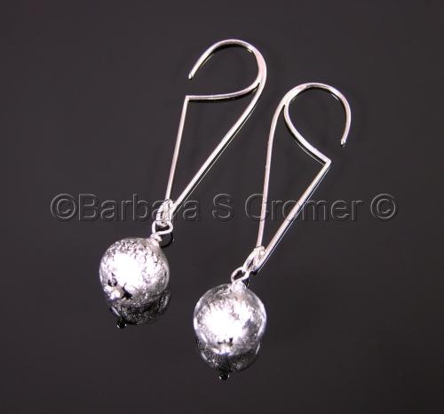 Silver orbs
