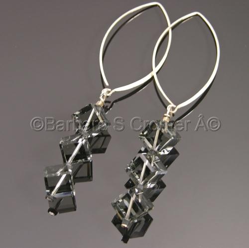black diamond crystal cubes