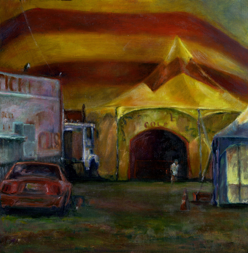 Entering The Big Top sold