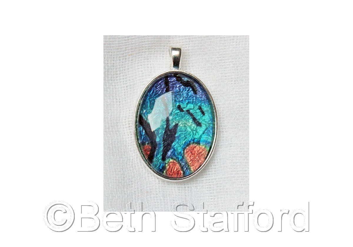 """Twigs"" Cabochon Pendant by PiCassieO (large view)"