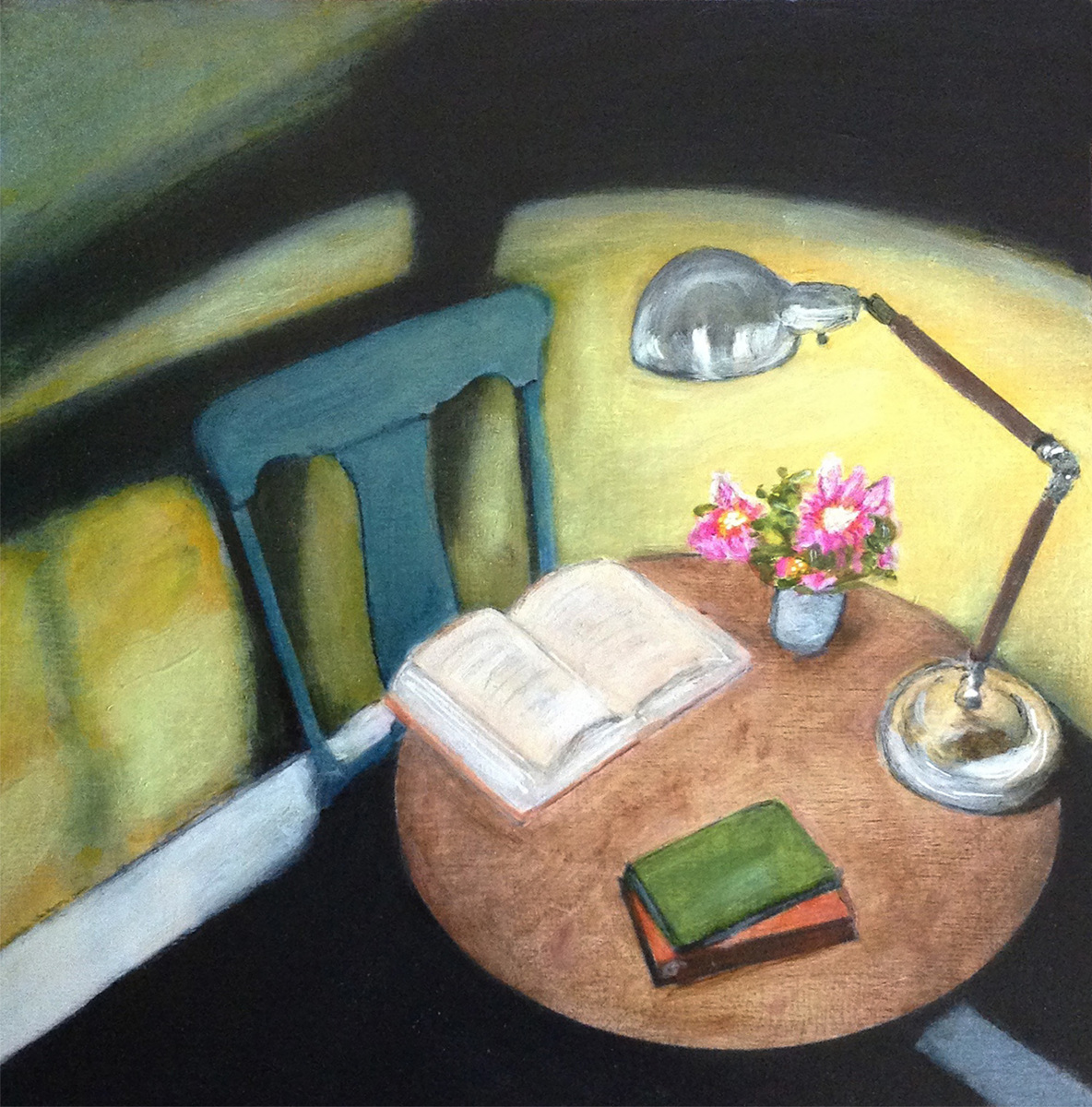 A Light Left On - May Sarton (large view)
