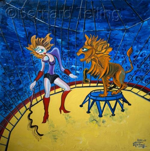 Tamer Woman (La dompteuse) by Bernard Teiling