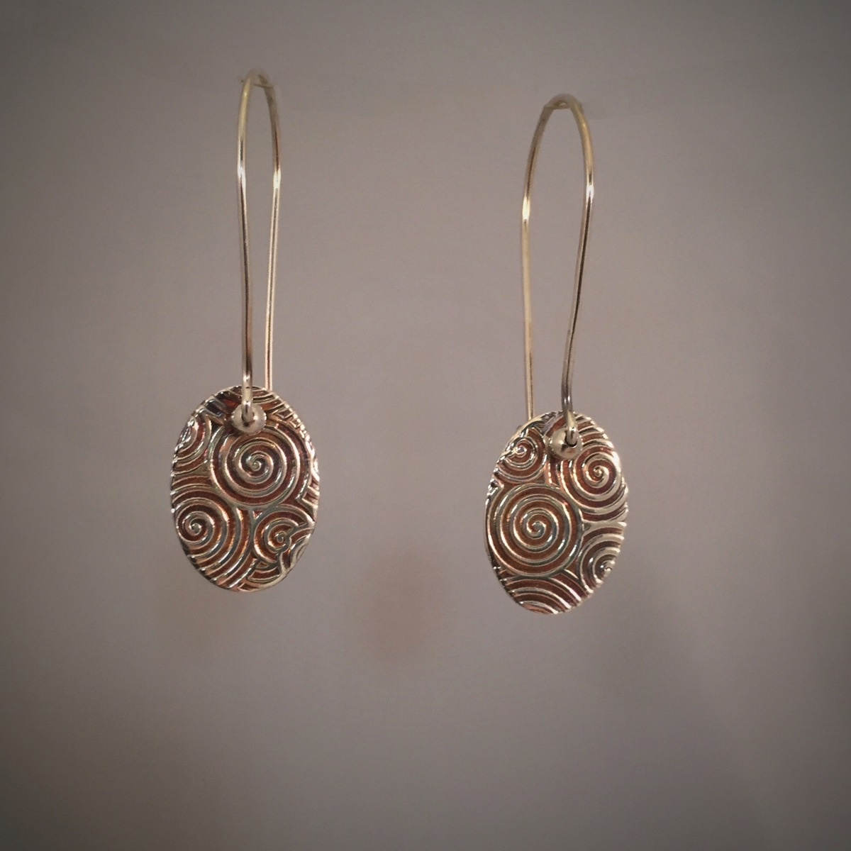Kinetic Swirl Series Earrings 2 (large view)