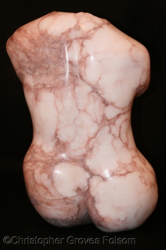 Seated Venus rear view