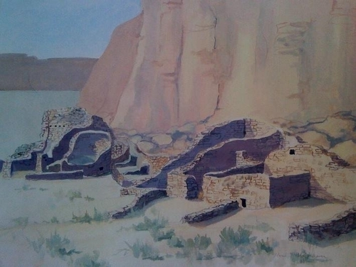 Chettro Kettle Chaco Canyon NM