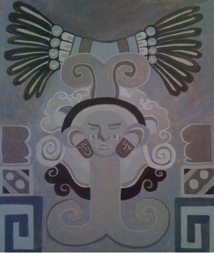 Quetzacoatl Toltec God Design