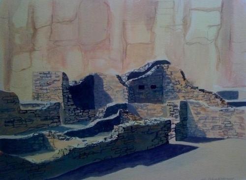 Pueblo Bonito Chaco Canyon NM
