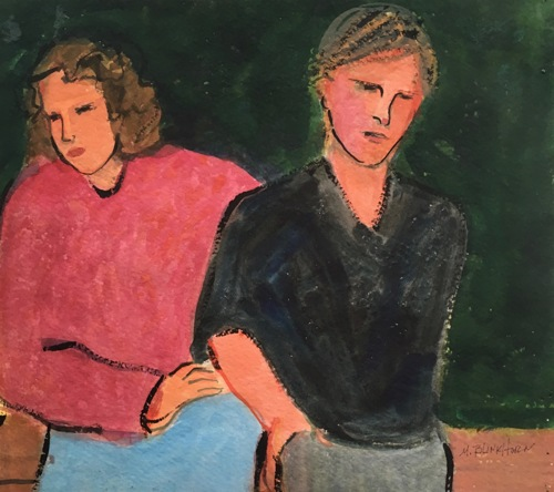 Youth in Black Shirt