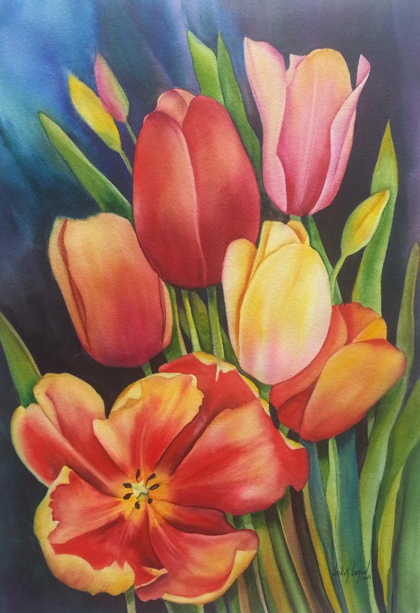 Tulip Bouquet (large view)