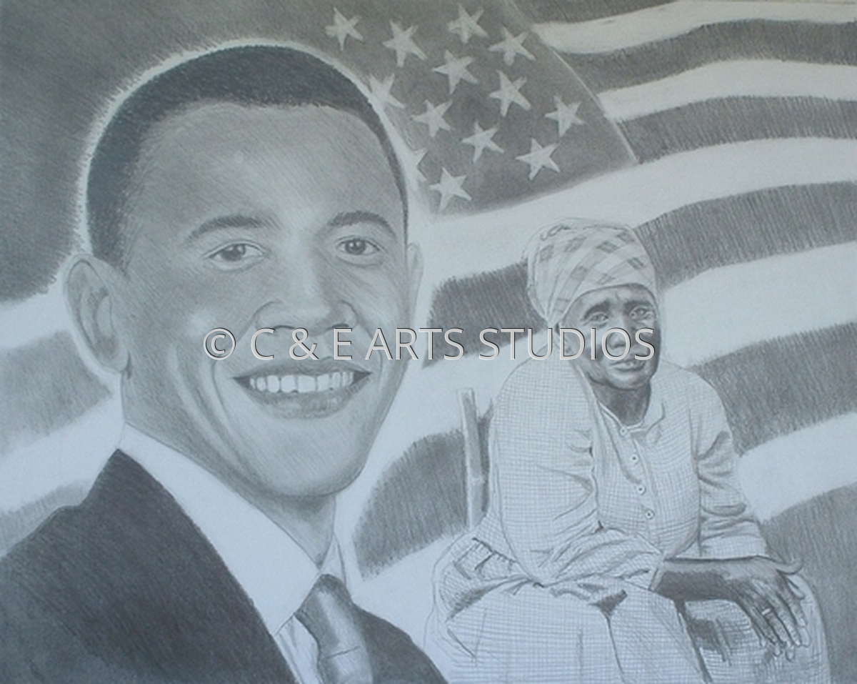 Barrack Obama Study (large view)
