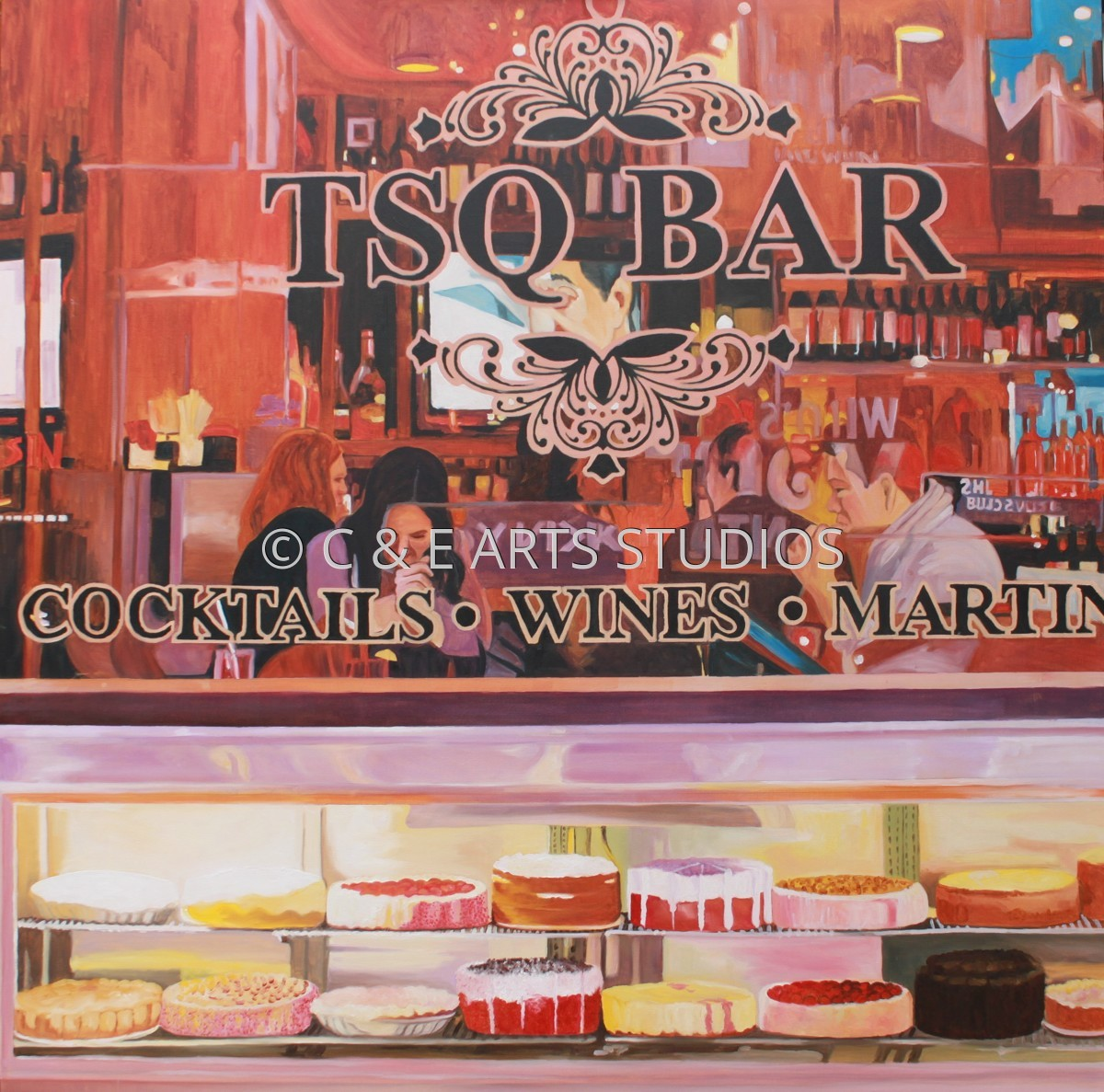 TSQ Bar Cheese Cakes (large view)