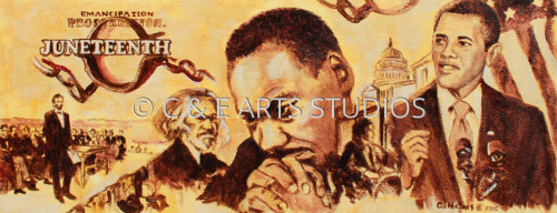Juneteenth 2015 by C & E ARTS STUDIOS