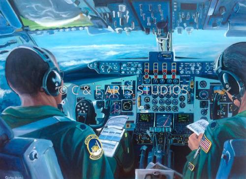 C-130 Cockpit