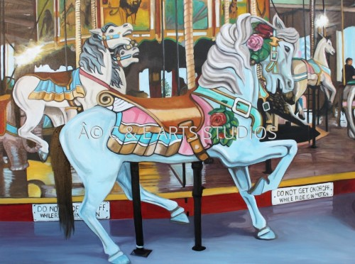 The Carousel II by C & E ARTS STUDIOS