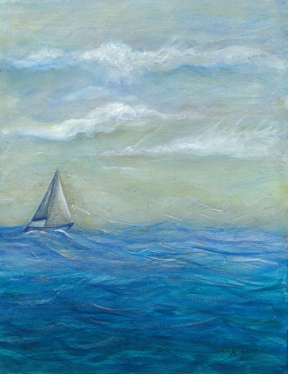 """""""last sail of the day"""" (large view)"""