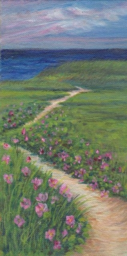 Botanicals cape cod paintings and elegant murals for Abri mural cape cod