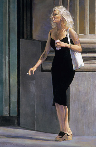 Black Dress (Study)
