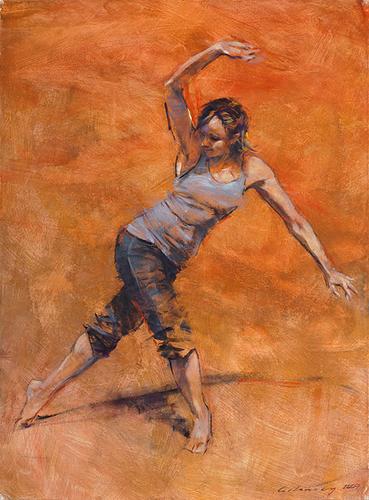 Lineage Dance Series 1, No. 9 (Teya, ver. II)