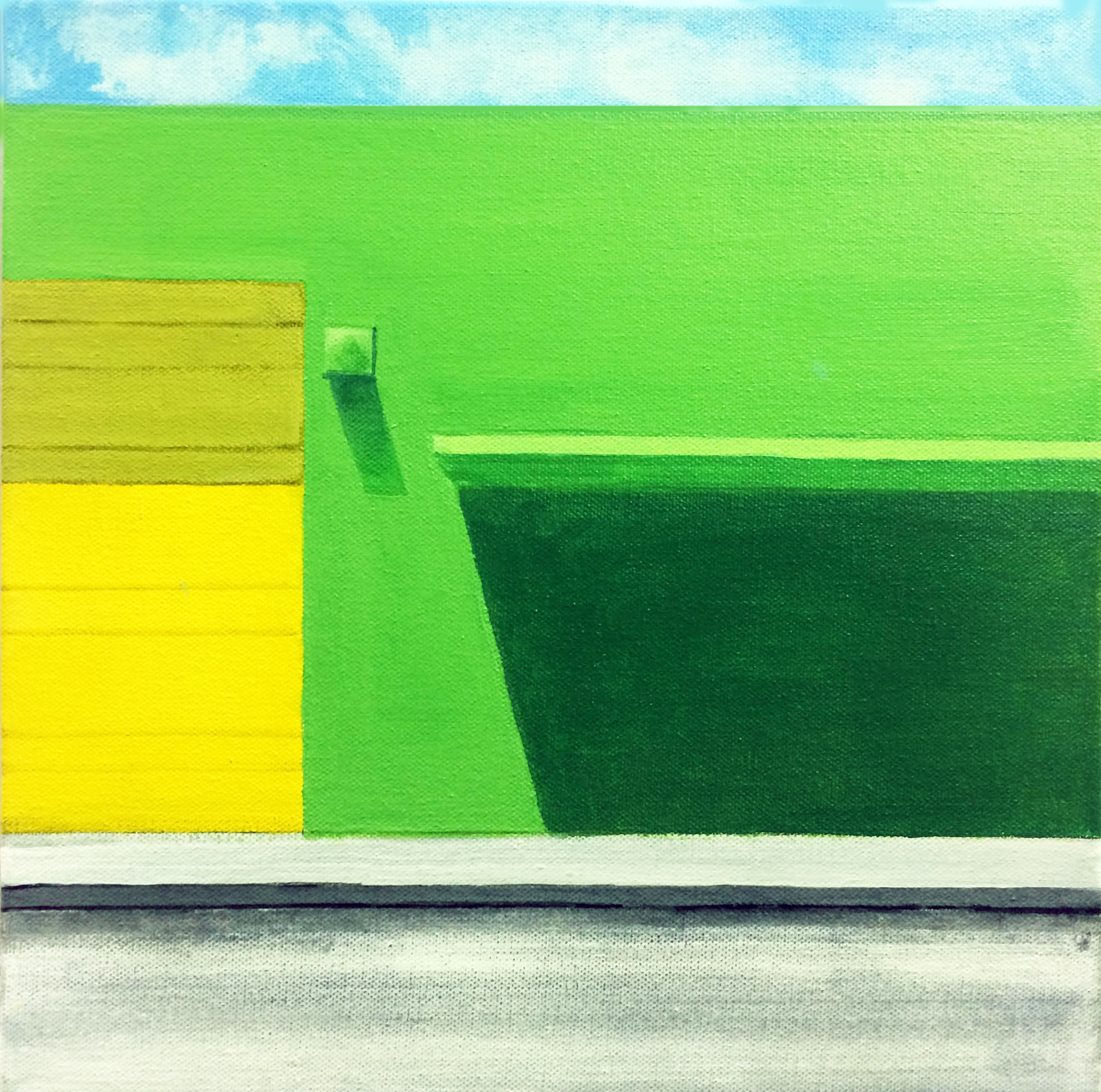 """Green Warehouse II"" (large view)"