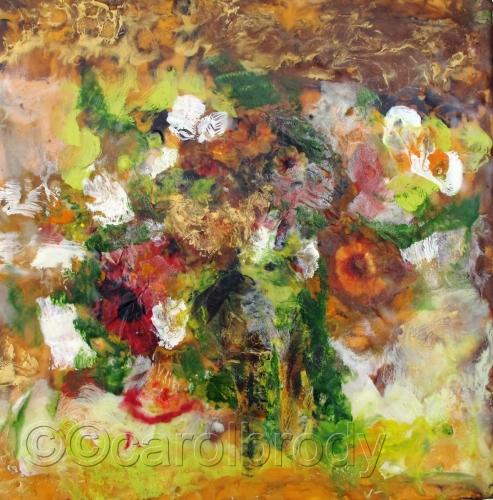 Fall Bouquet by CAROL BRODY ART