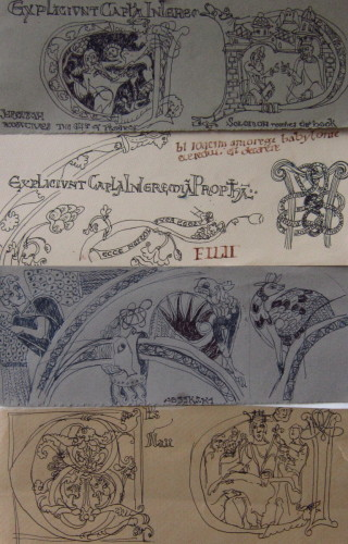 Sketches from the Winchester Bible